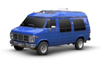 Karnevalskostüme für Gruppen beinhalten Verkehrsmittel: Das A-Team gehört in einen Van.