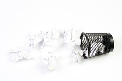 Man kann relativ einfach den Papierkorb wiederherstellen.