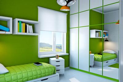 Jugendzimmer streichen - Ideen für trendige Zimmerwände