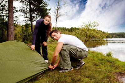 Camping in Scheveningen kann erholsam sein.