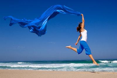Pure Lebensfreude verspüren - ein ausdruckstarker, fühlbarer Morgenimpuls.