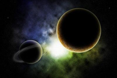 Modell des Sonnensystems: Die Größenverhältnisse sind etwas knifflig.