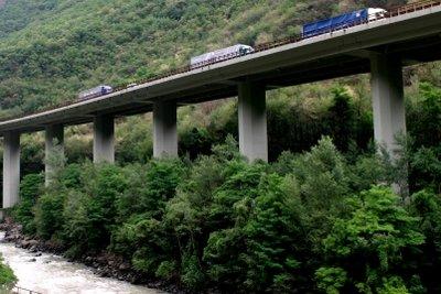 Die Benutzung der Brenner-Autobahn kostet Mautgebühren.