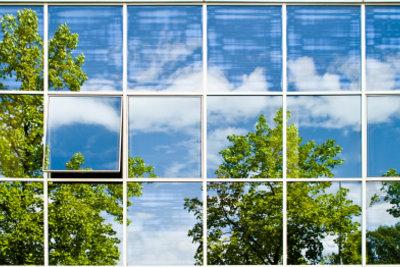 Fensterfolie gewährt keine Einblicke