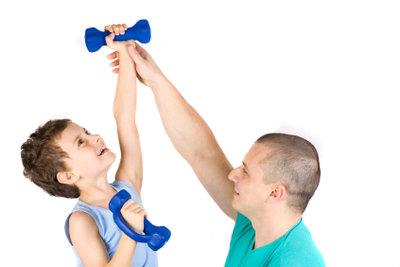Der Erwerb eines Übungsleiterscheins berechtigt Sie zum Beispiel zum Leiten von Kinderturnen.