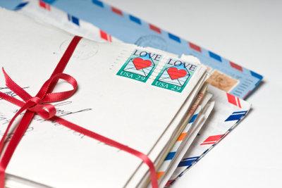 Liebesbriefe - die schönste Art, den Gefühlen Ausdruck zu verleihen.