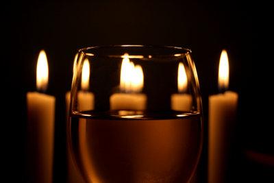 Genießen Sie einen romantischen Abend zu zweit.