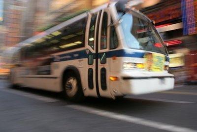 So viel Abwechslung können Sie als Busfahrer haben.