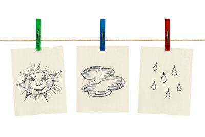 Im Internet findet man viele verschiedene Seiten mit Wettervorhersagen.