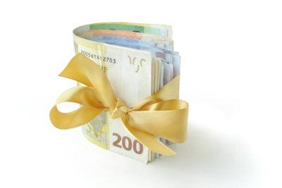 Sie können zum bestandenen Abitur Geldgeschenke selber basteln