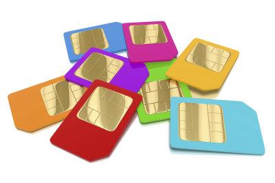 Die Simcard vom Handy ist meist mit einem Simlock gesperrt.