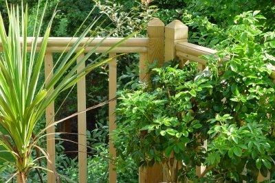 Schützen Sie Ihre Balkonpflanzen vor Regen und Hagel mit einem Regenschutz.
