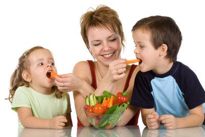 Mit einer gesunden Ernährung kann man der Salmonellenvergiftung entgegenwirken.
