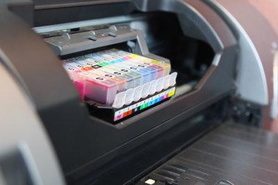 Für ein besseres Druckergebnis muss der Druckerkopf gereinigt werden.