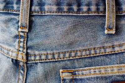Aus dem richtigen Material gefertigt, kann ein Keil gut in die Hose genäht werden.