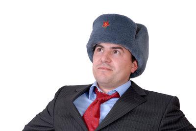 Moderne Russenmützen werden gern ihres ursprünglichen Zwecks entfremdet getragen.