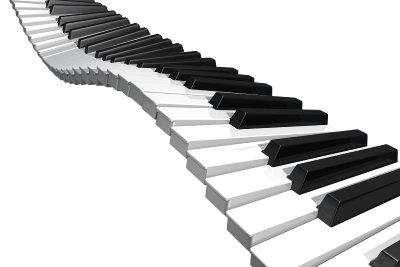 Klaviertasten sollten Sie mit Sorgfalt reinigen und pflegen.