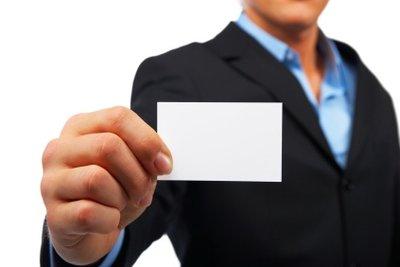 Mit Microsoft Word erstellen Sie Ihre persönlichen Visitenkarten.