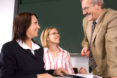 So meistern Eltern und Schüler ein Gespräch mit dem Schulleiter erfolgreich.