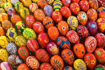 Ostereier färben macht Spaß!