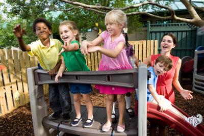 Das Anerkennungsjahr können Sie z.B. in einer Kindertagesstätte absolvieren.