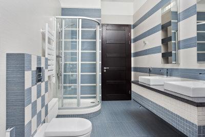Eine Duschkabine können Sie selbst bauen.