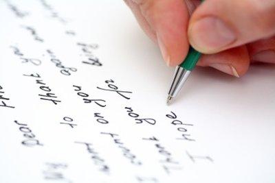 Einen nicht-tabellarischen Lebenslauf schreiben Sie in ganzen Sätzen.