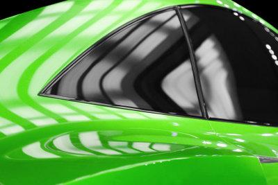 Gute Sicht ist wichtiger als gutes Aussehen bei Tönungsfolien für das Auto.