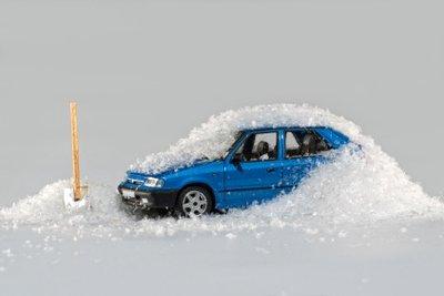 Fahren Sie niemals mit eingefrorenem Kühlwasser.