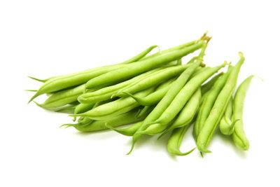 Bohnen kann man blanchieren und als Vorrat einfrieren.