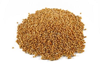 Braunhirse ist gesund und verfeinert viele Gerichte.