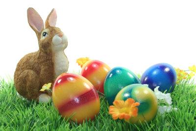 Ostergeschichten für Kinder drehen sich um Osterhasen.
