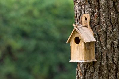 Eine Bauanleitung für ein Futterhaus ist mit ein wenig Fantasie schnell erstellt.