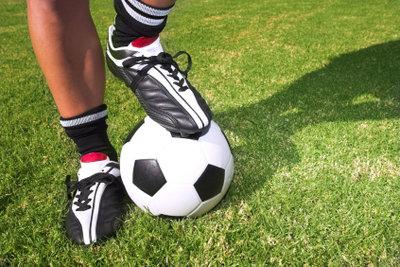 In einem gutem Fußballschuh sollten Sie sich wohl fühlen.