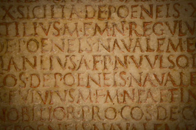 Wer nicht gut deklinieren kann, ist bei der Lektüre lateinischer Texte verloren.