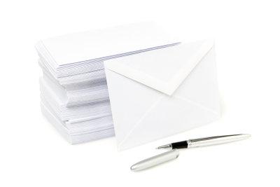 Ein ordentlich adressierter Brief kommt schneller in Österreich an.