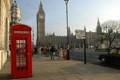 Nicht nur Big Ben ist typisch für London!