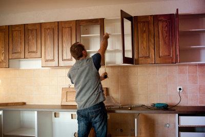 Man kann schöne Küchen selber bauen.