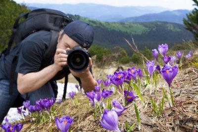 Planen Sie auf Ihrer Wanderroute auch Zeit zum Fotografieren ein.