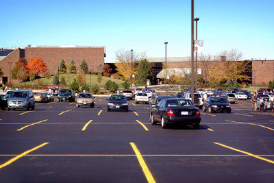 Sichern Sie sich einen Parkplatz.
