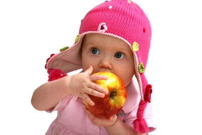 Babys frieren leicht am Kopf.