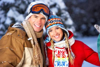 Eine gute Winterjacke hält Sie mehrere Winter lang warm.