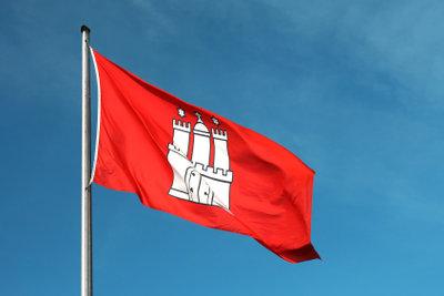 Hissen auch Sie Ihre Flagge mit einem Fahnenmast aus Aluminium.