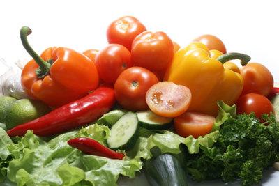 Gemüse statt Ölsardinen - so bleiben Sie gesund und fit.