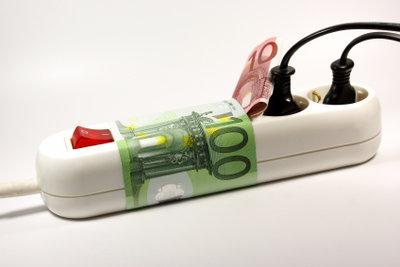 Hoher Stromverbrauch kostet den Verbraucher viel Geld.