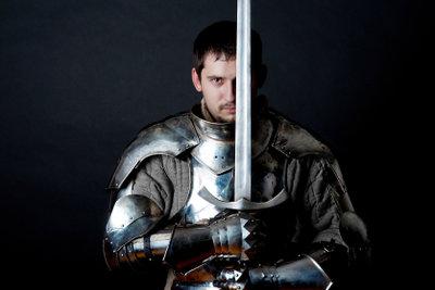 So sieht ein richtiger Ritter aus.