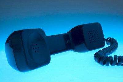 Ein Telefonanschluss ist leicht zu beantragen.