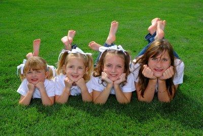 Eine Schnitzeljagd ist ein großer Spaß für Kinder.