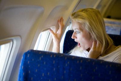 So kommen Sie mit dem Druck im Flugzeug klar.