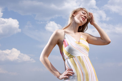 Gegen wetterbedingte Kopfschmerzen können Sie was tun.